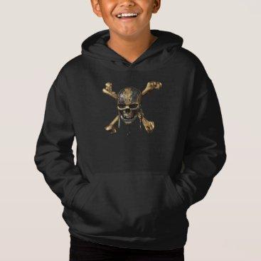Disney Themed Pirates of the Caribbean Skull & Cross Bones Hoodie