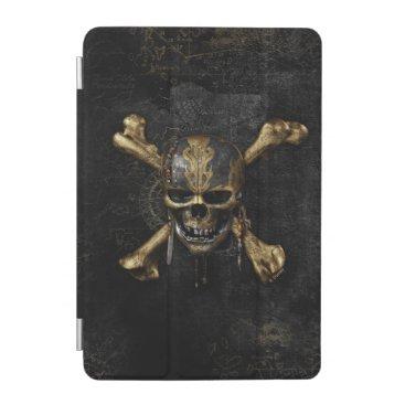 Disney Themed Pirates of the Caribbean Skull & Cross Bones iPad Mini Cover