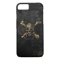 Pirates of the Caribbean Skull & Cross Bones iPhone 7 Case
