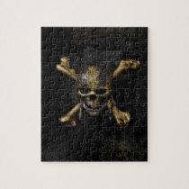Pirates of the Caribbean Skull & Cross Bones Jigsaw Puzzle