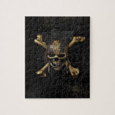Pirates of the Caribbean Skull & Cross Bones Jigsaw Puzzle
