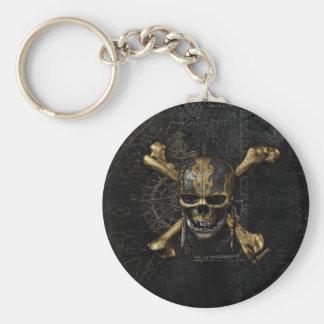 Pirates of the Caribbean Skull & Cross Bones Keychain