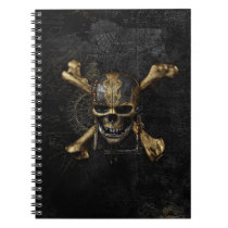 Pirates of the Caribbean Skull & Cross Bones Notebook