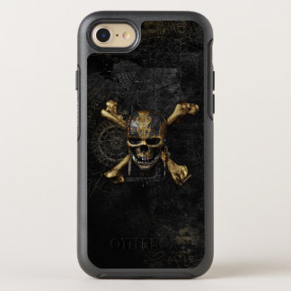 Pirates of the Caribbean Skull & Cross Bones OtterBox Symmetry iPhone 7 Case