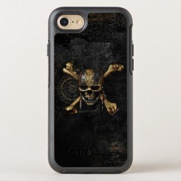 Disney Themed Pirates of the Caribbean Skull & Cross Bones OtterBox Symmetry iPhone 7 Case