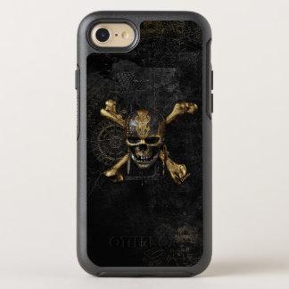 Pirates of the Caribbean Skull & Cross Bones OtterBox Symmetry iPhone 8/7 Case