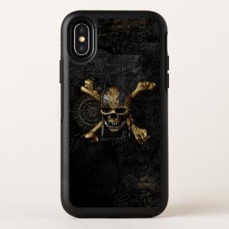 Pirates of the Caribbean Skull & Cross Bones OtterBox Symmetry iPhone X Case