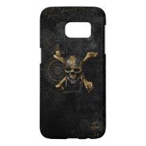 Pirates of the Caribbean Skull & Cross Bones Samsung Galaxy S7 Case