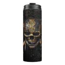 Pirates of the Caribbean Skull & Cross Bones Thermal Tumbler