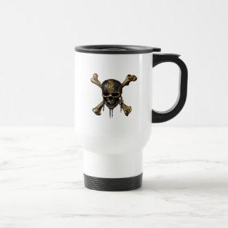 Pirates of the Caribbean Skull & Cross Bones Travel Mug