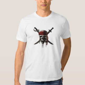 Pirates of the Caribbean Skull Logo Shirt