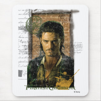 Pirates Of The Caribbean Will Turner Photo Disney Mouse Pad