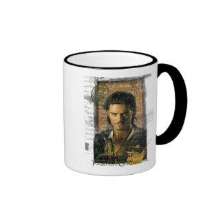 Pirates Of The Caribbean Will Turner Photo Disney Ringer Coffee Mug