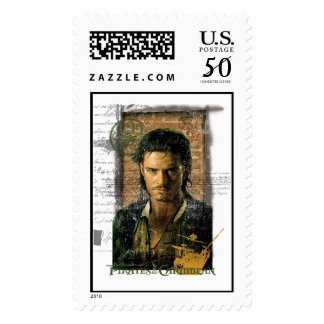 Pirates Of The Caribbean Will Turner Photo Disney Postage