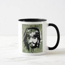 Pirates of the Caribbean's Jack Sparrow Grunge Mug