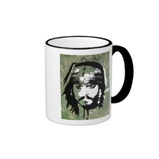 Pirates of the Caribbean's Jack Sparrow Grunge Ringer Mug