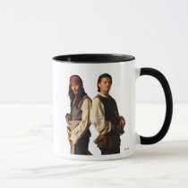 Pirates of the Carribbean Jack Sparrow and Will Mug