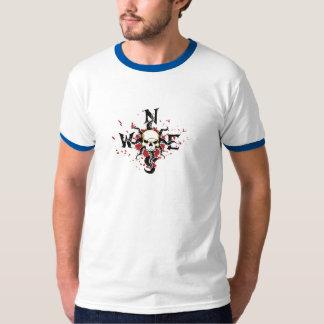 Pirates Of The Carribean Compass logo Disney T-Shirt