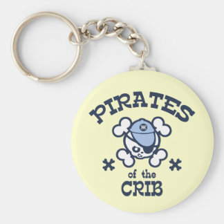 Pirates of the Crib Keychain