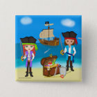 Pirates of the Hinterland Button