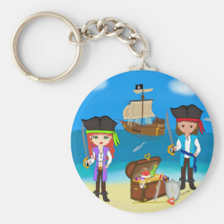 Pirates of the Hinterland Keychain