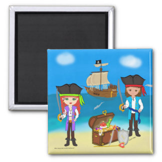 Pirates of the Hinterland Magnet Fridge Magnets