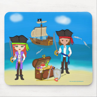 Pirates of the Hinterland Mouspad Mouse Pad