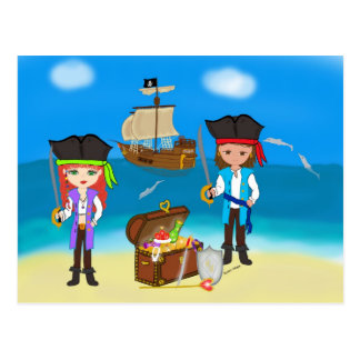Pirates of the Hinterland Postcard