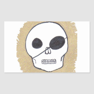 Pirates of the Patch Rectangular Stickers