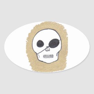 Pirates of the Patch Oval Sticker