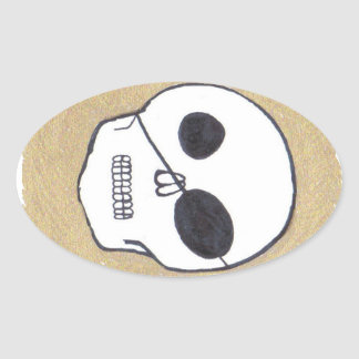 Pirates of the Patch Oval Stickers