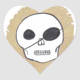 Pirates of the Patch Heart Stickers