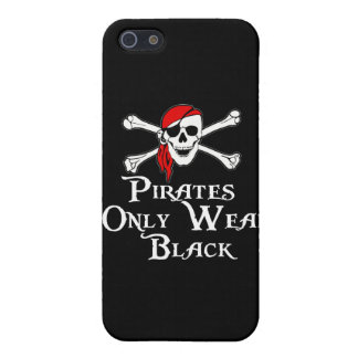 Pirates only wear Black iPhone SE/5/5s Cover