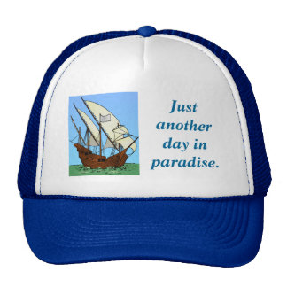 Pirate's Paradise at Sea Trucker Hat