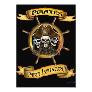 Pirates Party Invitation
