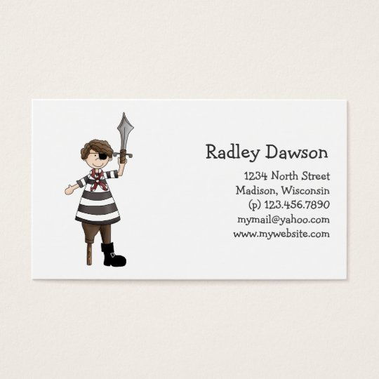 Pirates · Pirate #1 Business Card