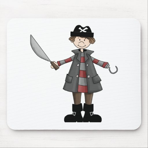 Pirates · Pirate #4 Mouse Pad