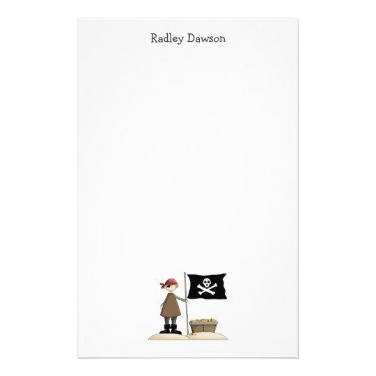 Pirates · Pirate, Flag & Treasure Stationery
