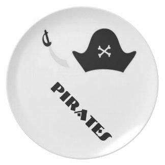 Pirates Plate