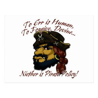 Pirates! Postcard