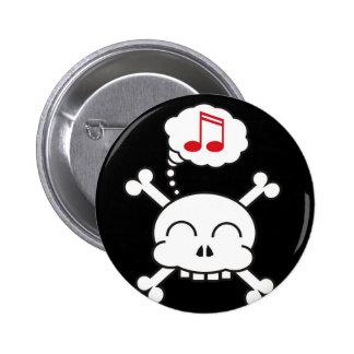 pirates R happy 2 Inch Round Button
