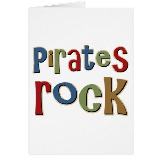Pirates Rock Cards