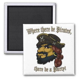 Pirates Rock! Magnet