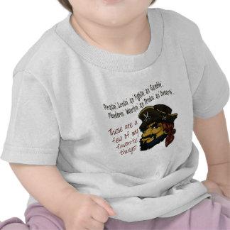 Pirates Rock! Tshirts