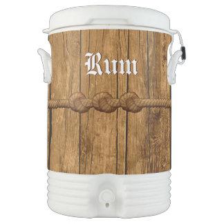 Pirate's Rum Barrel Igloo Beverage Dispenser