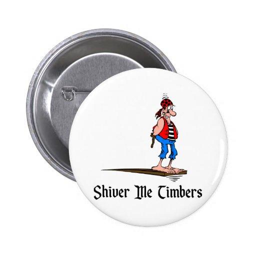 Pirates - Shiver Me Timbers Pins