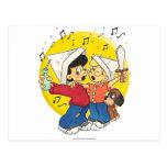 Pirates Singing Postcard