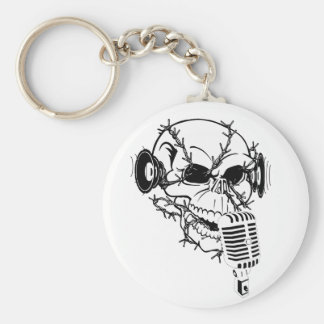 Pirates Skull Keychain