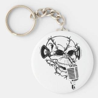 Pirates Skull Keychain