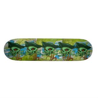 Pirates Skull Skateboard